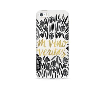 Black Vino Veritas Artprint - Apple iPhone 5 / 5s / SE
