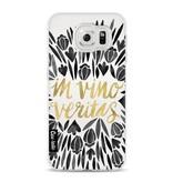 Casetastic Softcover Samsung Galaxy S6 - Black Vino Veritas Artprint
