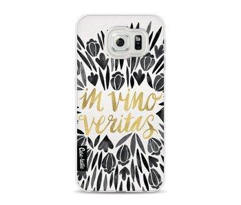 Black Vino Veritas Artprint - Samsung Galaxy S6