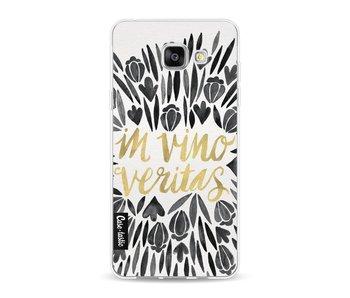 Black Vino Veritas Artprint - Samsung Galaxy A5 (2016)