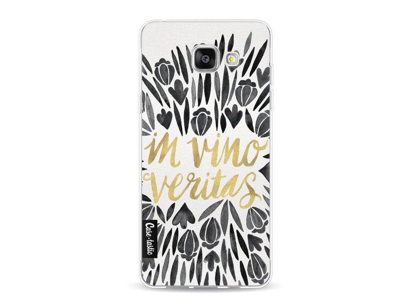 Casetastic Softcover Samsung Galaxy A5 (2016) - Black Vino Veritas Artprint