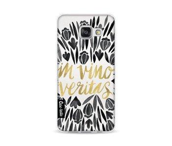 Black Vino Veritas Artprint - Samsung Galaxy A3 (2016)