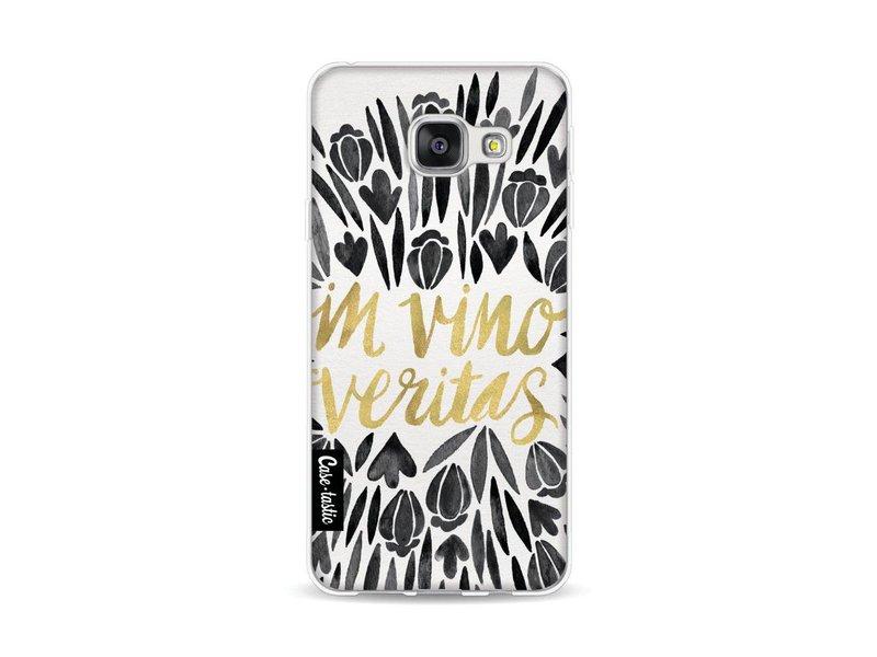 Casetastic Softcover Samsung Galaxy A3 (2016) - Black Vino Veritas Artprint