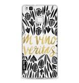 Casetastic Softcover Huawei P9 Lite - Black Vino Veritas Artprint