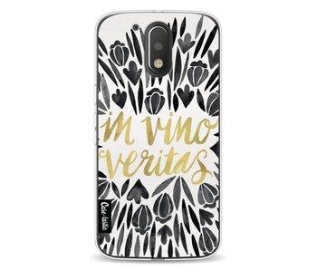 Black Vino Veritas Artprint - Motorola Moto G4 / G4 Plus