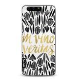 Casetastic Softcover Huawei P10 - Black Vino Veritas Artprint
