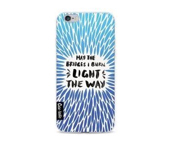 Blue Bridges Burn Burst Artprint - Apple iPhone 6 / 6s