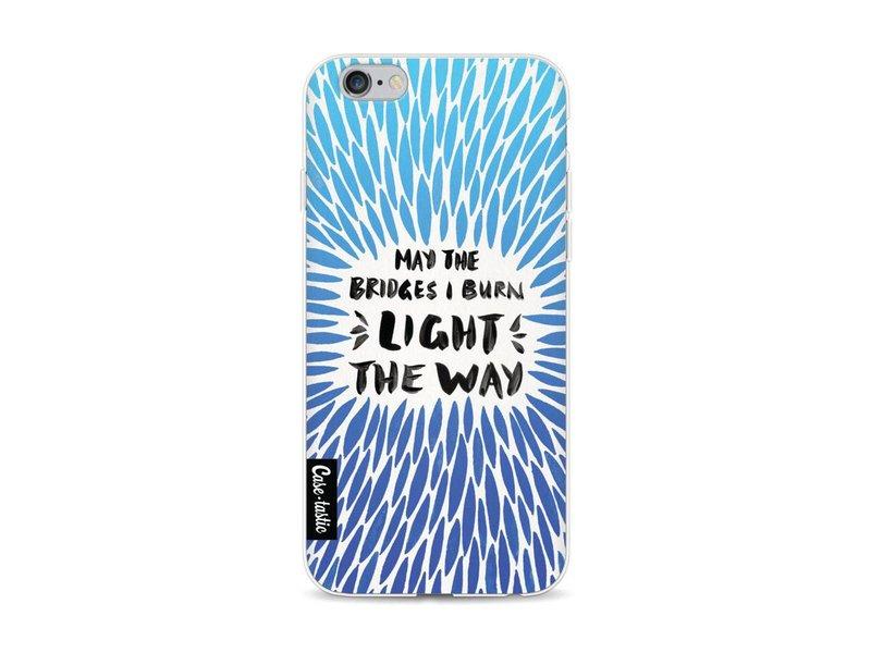 Casetastic Softcover Apple iPhone 6 / 6s - Blue Bridges Burn Burst Artprint