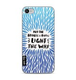 Casetastic Softcover Apple iPhone 7 - Blue Bridges Burn Burst Artprint