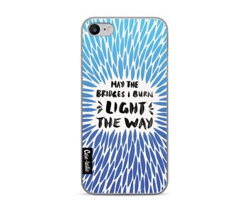 Blue Bridges Burn Burst Artprint - Apple iPhone 7