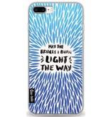 Casetastic Softcover Apple iPhone 7 Plus - Blue Bridges Burn Burst Artprint
