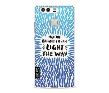 Blue Bridges Burn Burst Artprint - Huawei P9