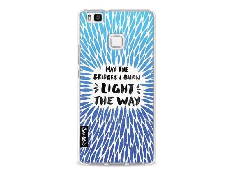 Casetastic Softcover Huawei P9 Lite - Blue Bridges Burn Burst Artprint