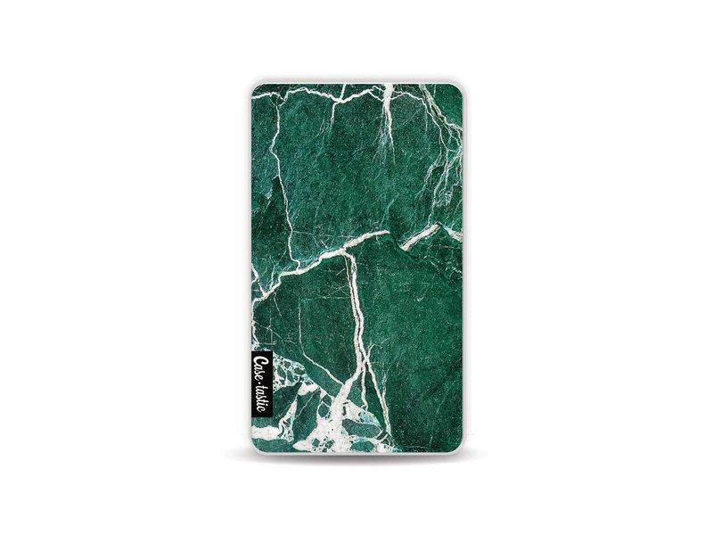 Casetastic Powerbank 4.000 mAh - Dark Green Marble