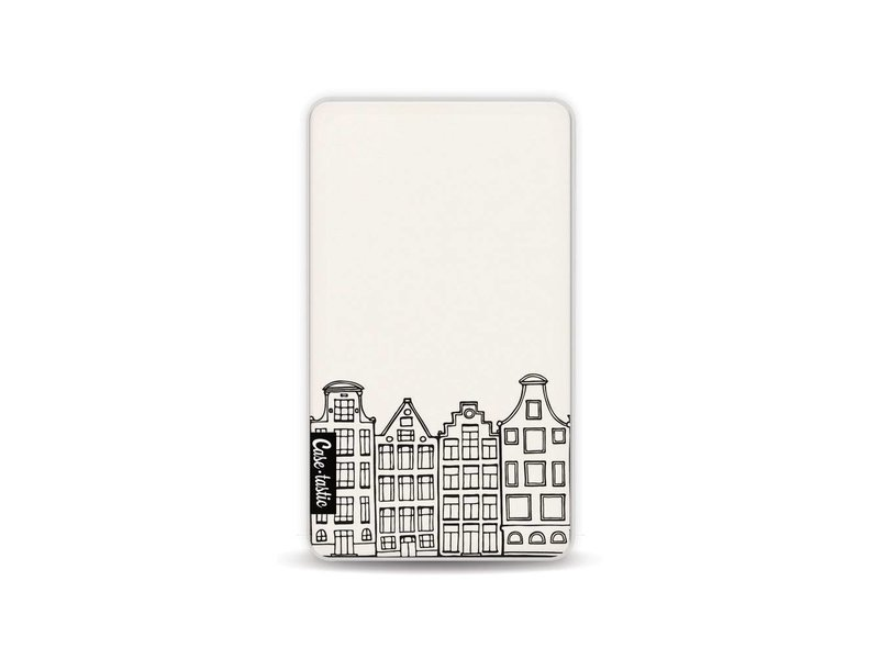 Casetastic Powerbank 4.000 mAh - Amsterdam Canal Houses