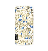 Casetastic Softcover Apple iPhone 5 / 5s / SE - Blue Gold Olive Branches Artprint