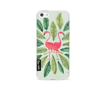 Flamingos Green - Apple iPhone 5 / 5s / SE
