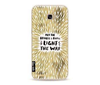 Gold Bridges Burn Burst - Samsung Galaxy A5 (2017)