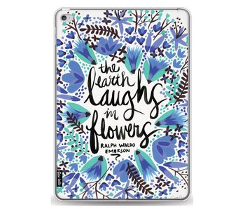Laughs Flowers BlueBlack - Apple iPad Air 2