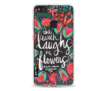Laughs Flowers Charcoal - Huawei P10 Lite
