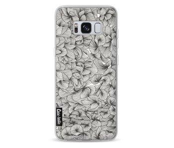 Abstract Pattern Black - Samsung Galaxy S8