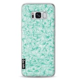 Casetastic Softcover Samsung Galaxy S8 - Abstract Pattern Turquoise