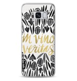 Casetastic Softcover Samsung Galaxy S8 - Black Vino Veritas Artprint
