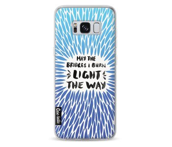 Blue Bridges Burn Burst Artprint - Samsung Galaxy S8