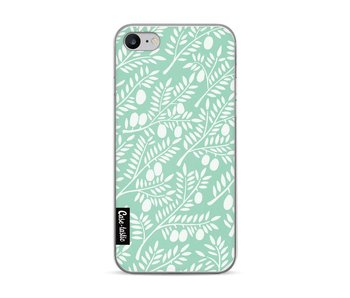 Mint Olive Branches - Apple iPhone 7