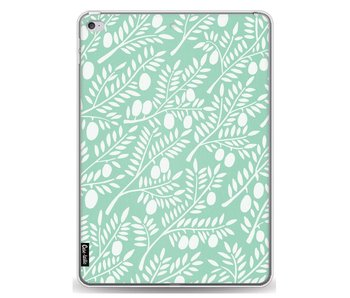 Mint Olive Branches - Apple iPad Air 2