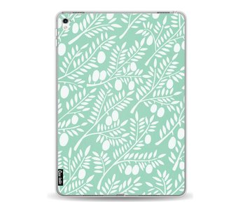 Mint Olive Branches - Apple iPad Pro 9.7