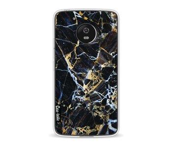 Black Gold Marble - Motorola Moto G5