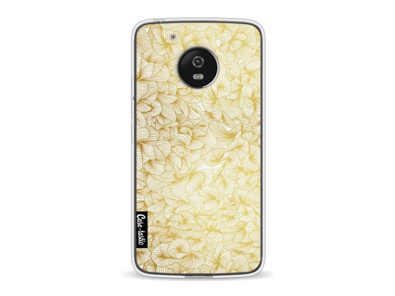 Casetastic Softcover Motorola Moto G5 - Abstract Pattern Gold