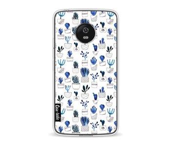 Blue Cacti - Motorola Moto G5