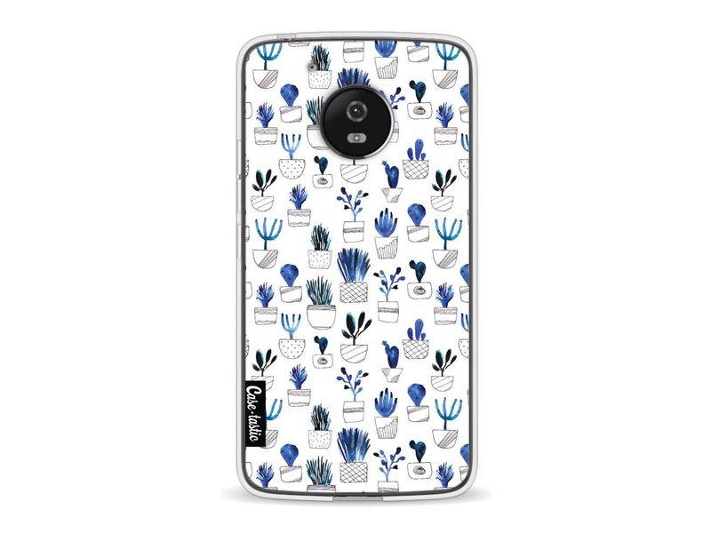 Casetastic Softcover Motorola Moto G5 - Blue Cacti