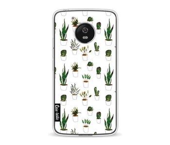 Plants in White Pots - Motorola Moto G5