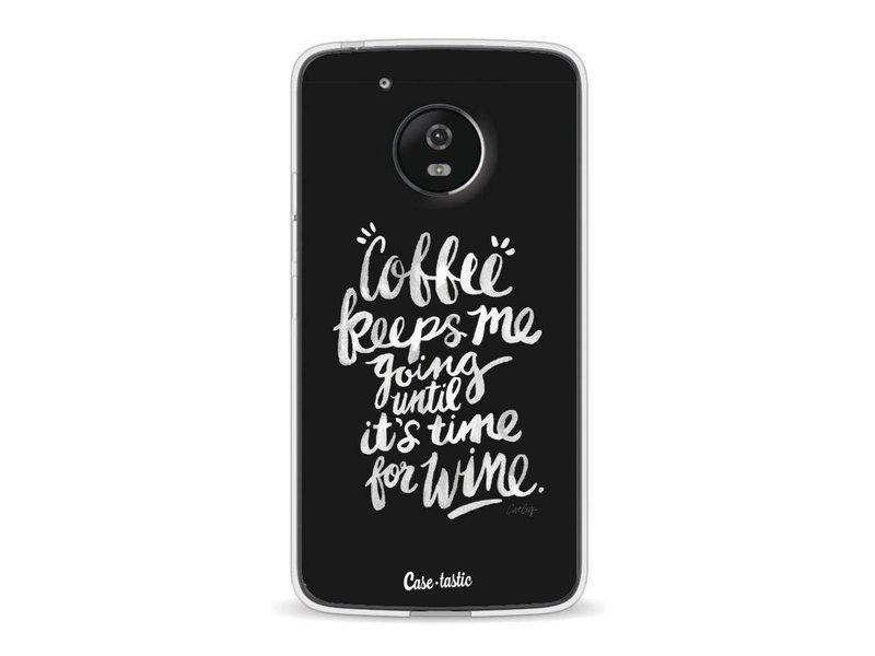 Casetastic Softcover Motorola Moto G5 - Coffee Wine White