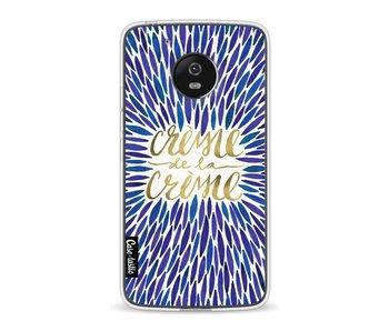 Creme de la Creme Navy - Motorola Moto G5