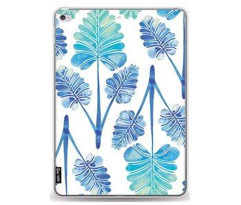 Blue Ombre Palm Leaf Trifecta Pattern - Apple iPad Air 2