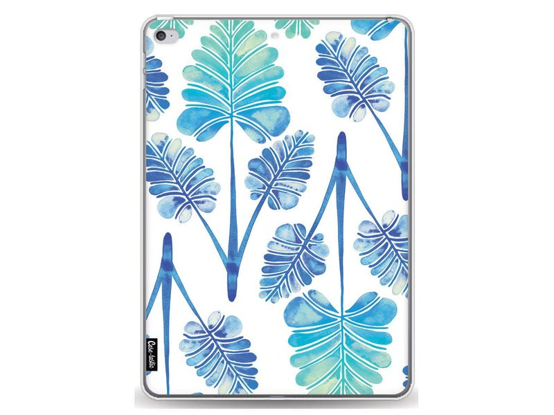 Casetastic Softcover Apple iPad Air 2 - Blue Ombre Palm Leaf Trifecta Pattern