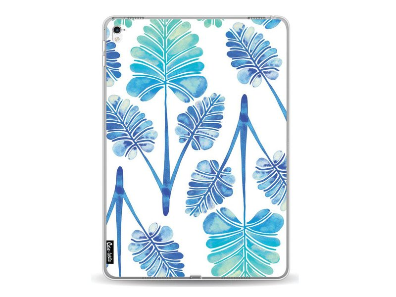 Casetastic Softcover Apple iPad Pro 9.7 - Blue Ombre Palm Leaf Trifecta Pattern
