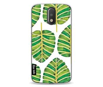 Green Alocasia Pattern - Motorola Moto G4 / G4 Plus