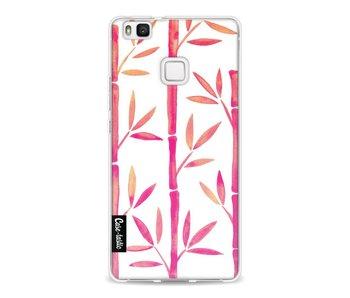 Pink Bamboo Pattern - Huawei P9 Lite