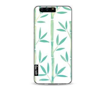 Turquoise Bamboo Pattern - Huawei P10