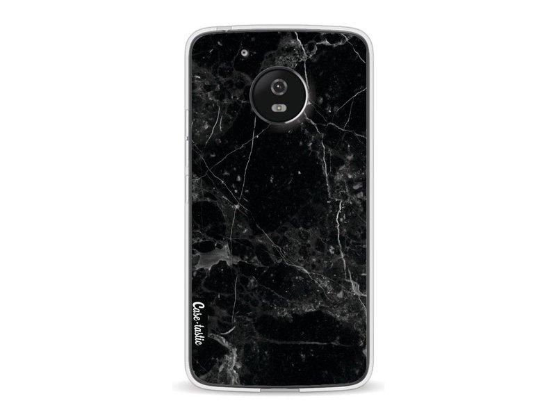 Casetastic Softcover Motorola Moto G5 - Black Marble