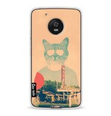 Casetastic Softcover Motorola Moto G5 - Cool Cat