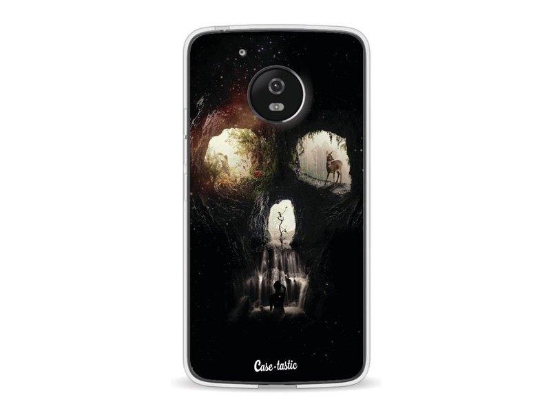 Casetastic Softcover Motorola Moto G5 - Cave Skull