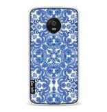 Casetastic Softcover Motorola Moto G5 - Blue White Folk Art