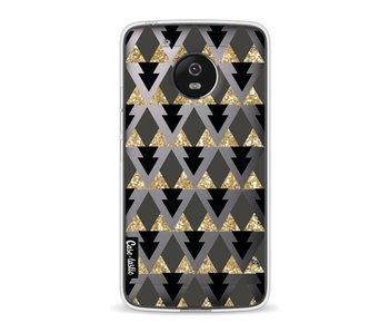 Gold Black Triangles - Motorola Moto G5
