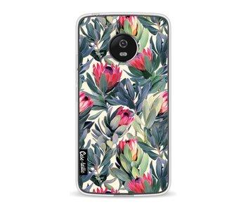 Painted Protea - Motorola Moto G5